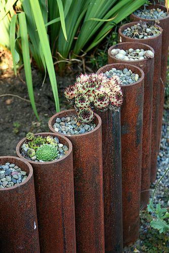 steel-pipe-garden