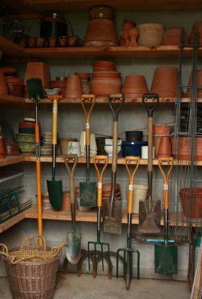 organized-garden-shed