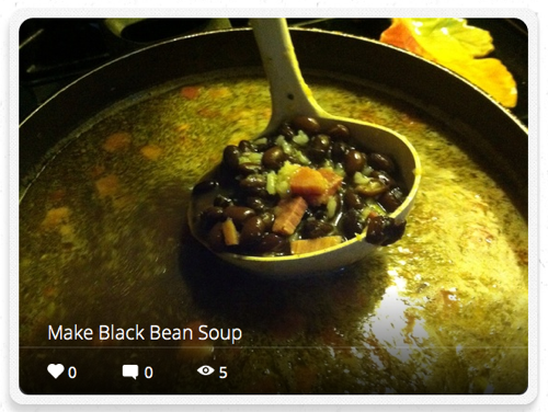 Blackbean snap