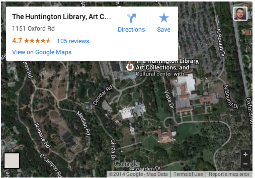 Huntington Library, Art Center and Gardens, Pasadena, CA