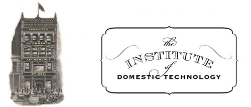 Classes from the Institute of Domestic Technology