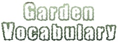 Garden Vocabulary Logo