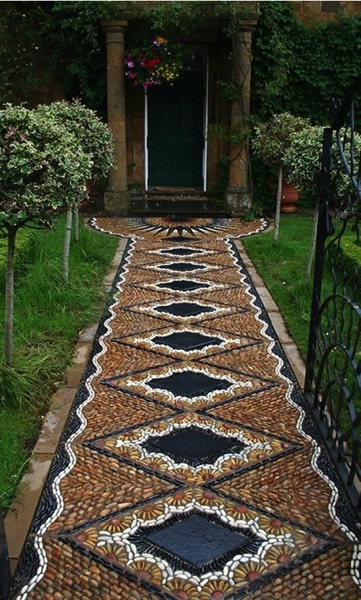 Mosaic path