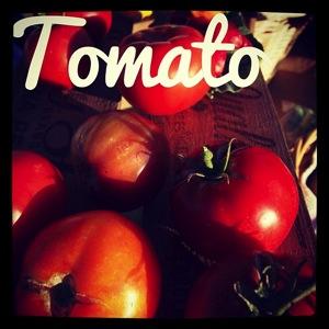 Garden alphabet tomato