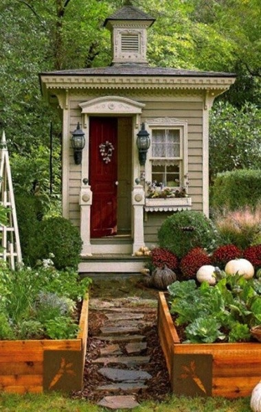 Ott gardenshed