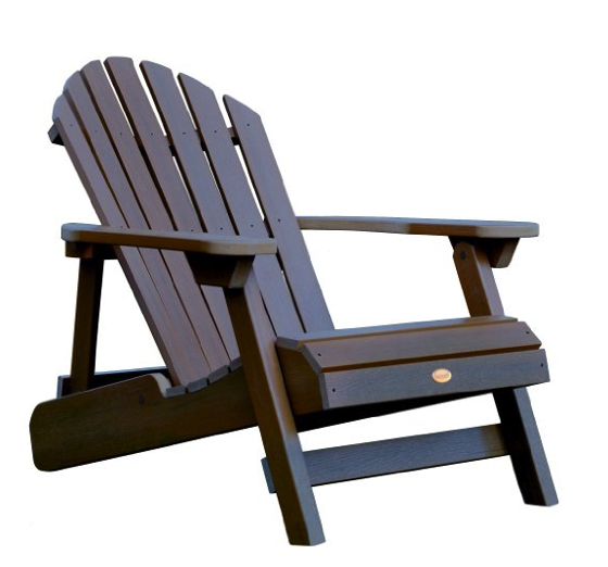 Summer in the Garden: Highwood Hamilton Folding and Reclining Adirondack Chair