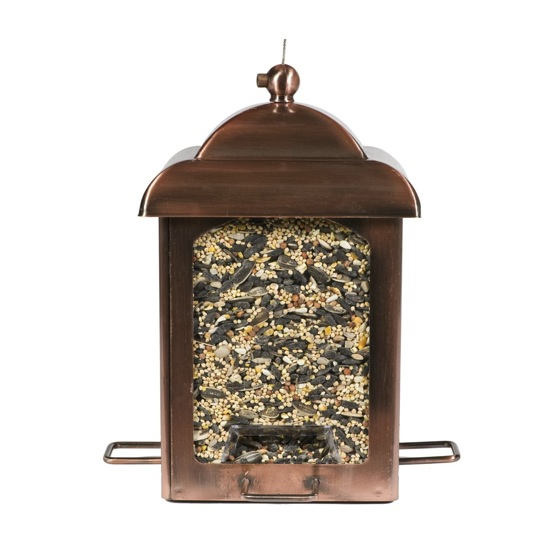 Summer In The Garden Antique Copper Lantern Feeder A