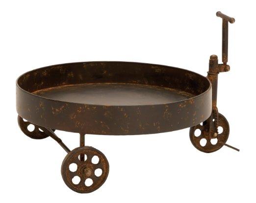 Summer in the Garden: Reclaim Metal Barrel Trolley