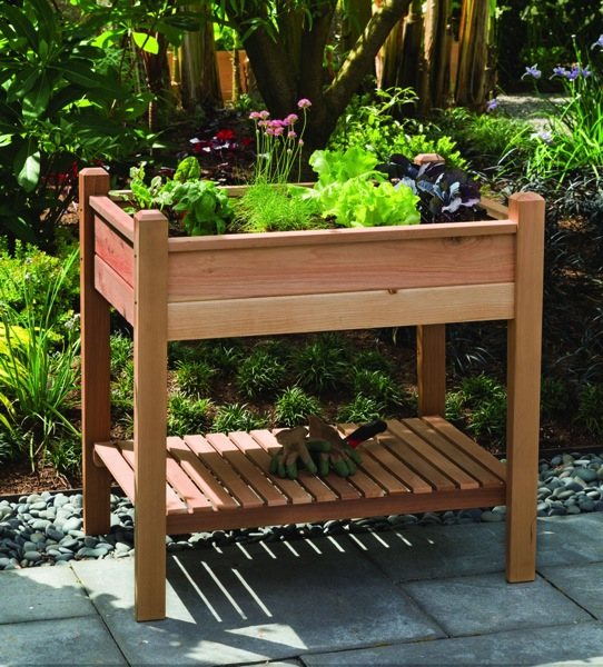 Summer in the Garden: PHAT TOMMY Elevated Planter Box