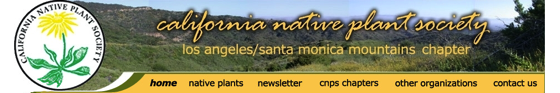 Los Angeles/Santa Monica Mountains Chapter of the California Native Plant Society