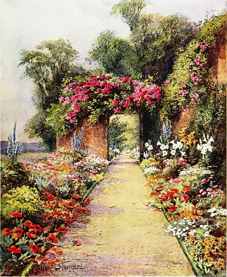 Lovely Gardens garden history: a lovely garden path from the gardens of england