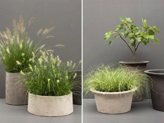 Artful Planters from Belgium by Julie Carlson via Gardenista