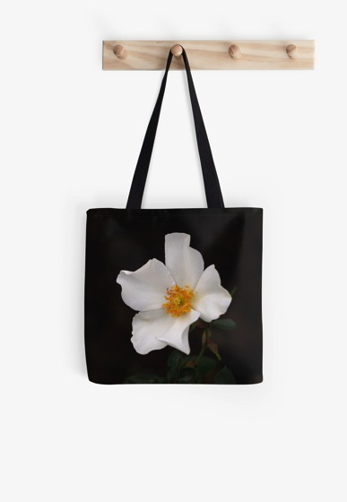 Product: California Winter Rose Tote Bag (and others)