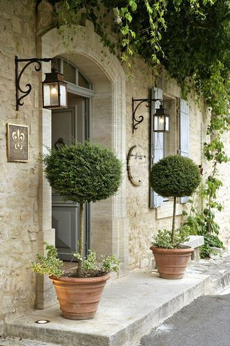 Garden Decor: Topiary Doorway