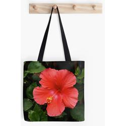 Hibiscus tote sq