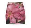 Pink rhododendron skirt