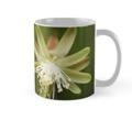 White cactus mug