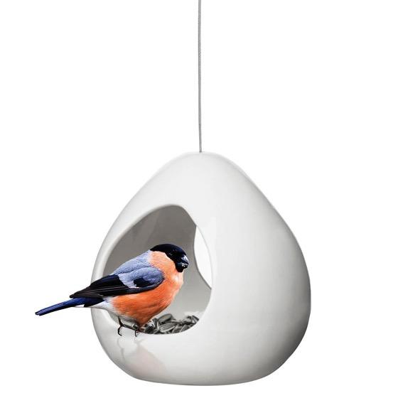 Ceramic birdfeeder