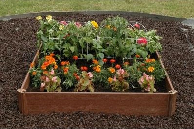 Greenland Gardener 42 in. x 42 in. Raised Bed Garden Kit