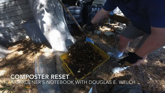 Timelapse: Composter Reset from A Gardener's Notebook