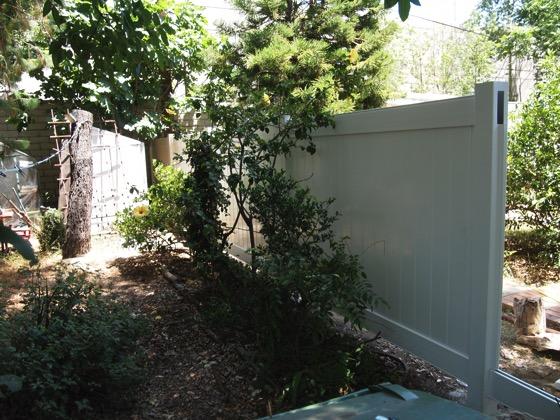 New Fence 1 In Progress