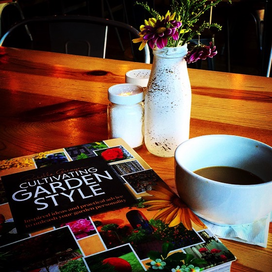 Today's Coffee Break Reading at Farm Table