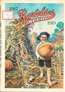 Historical Seed Catalogs: Barteldes Seed Catalog (1919) - 2 in a series