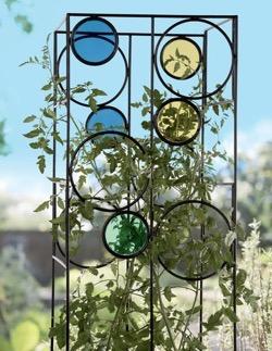 Kaleidoscope tomato cage