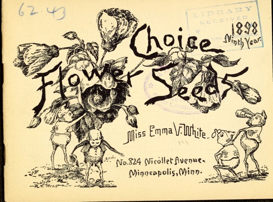 Historical Seed Catalogs:  Choice flower seeds (1898) - 7 in a series
