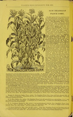 Historical Seed Catalogs:  12th annual price list & catalogue of fresh and reliable garden, field and flower seeds : grown and sold on the seed farm of Samuel Wilson (1888) - 11 in a series