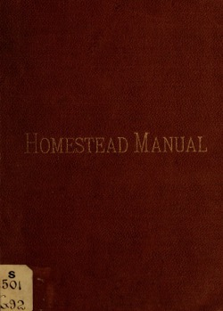 Homesteadmanualo00gueb 0001