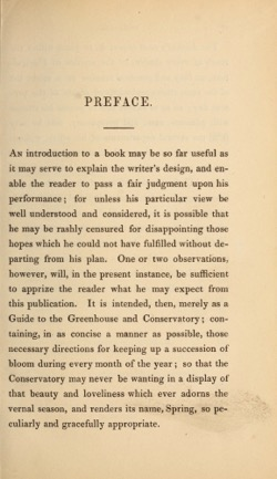 Historical Garden Books:  Guide to the conservatory (1842) by by Richard  Bainbridge  - 34  in a Series