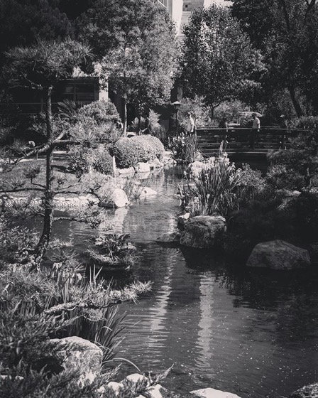 Japanese Garden 3 (Black & White), Cal Poly Pomona via My Instagram