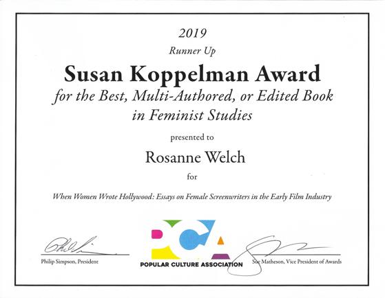 Koppleman award