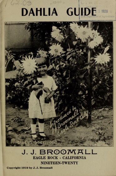 Historical Seed Catalogs: Dahlia guide. Nineteen-twenty / J.J. Broomall (1920) - 33 in a series