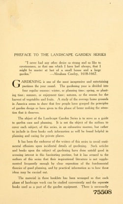 Historical Garden Books: Landscape garden series by Ralph Rodney Root (1921) - 44 in a series