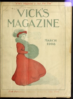 Historical Garden Books: Vick's magazine (1906) - 43 in a series