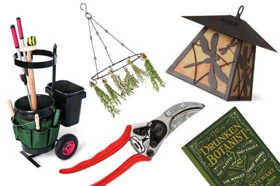 Gift guide for useful gardening tools and gifts via Los Angeles Times