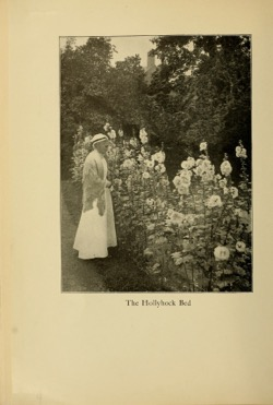 Historical Garden Books:- 55 in a series - A garden with house attached (1904 by Sarah Warner Brooks