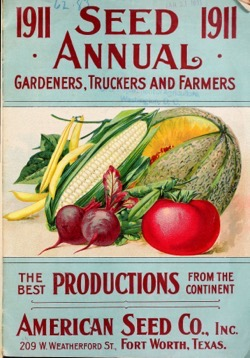 Historical Seed Catalogs: Seed annual : a gardeners, truckers and farmers by American Seed Company (1911) - 42 in a series