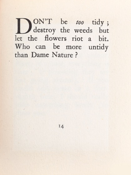 From Gardening Don'ts (1913) by M.C. 07