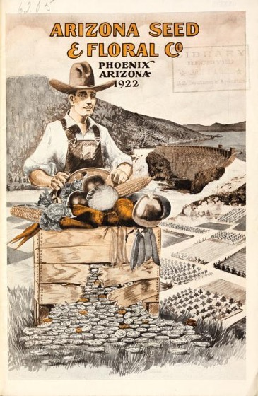 Historical Seed Catalogs: Arizona Seed & Floral Co. (1922) - 49 in a series