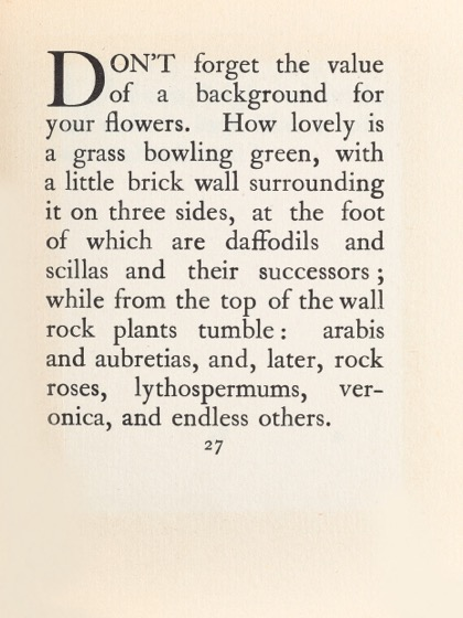 From Gardening Don'ts (1913) by M.C. 19