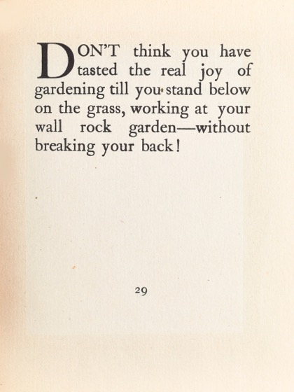 From Gardening Don'ts (1913) by M.C. 21
