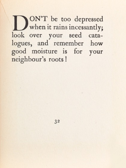 From Gardening Don'ts (1913) by M.C. 24