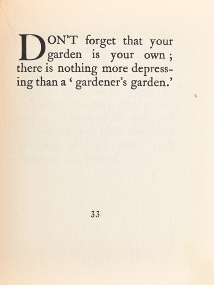 From Gardening Don'ts (1913) by M.C. 25