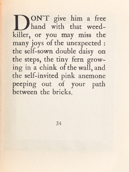 From Gardening Don'ts (1913) by M.C. 26