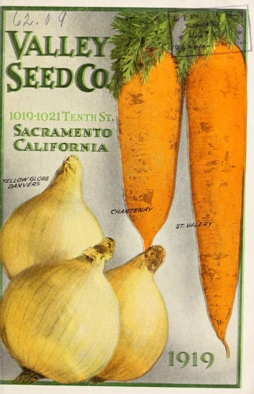 Historical Seed Catalogs: Valley Seed Co. (1919) - 61 in a series
