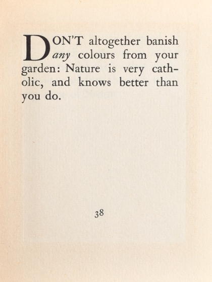 From Gardening Don'ts (1913) by M.C. 29