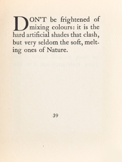 From Gardening Don'ts (1913) by M.C. 30